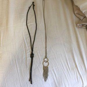 Long necklace bundle